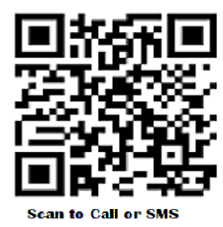 Scan to Call or SMS